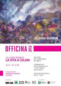 OFFICINA OPEN: mostra LILLIANA BIANCHI - LA VITA A COLORI